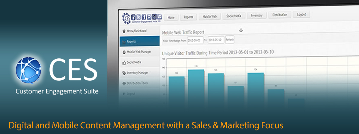 CES - Digital and mobile content management with a sales and marketing focus